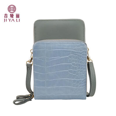 JIYALI Single shoulder messenger phone bag 29003